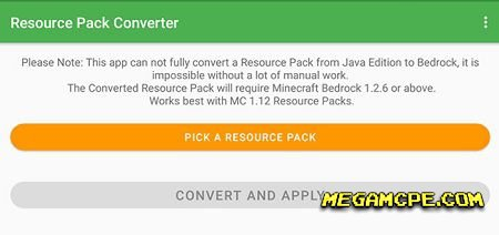 Resource Pack Converter (Андроид)