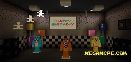 Карта Five Nights At Freddy's (Творчество)