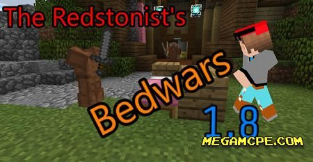 Карта The Redstonist Bedwars (Обновление 1.8) (PvP) (Мини-игра)